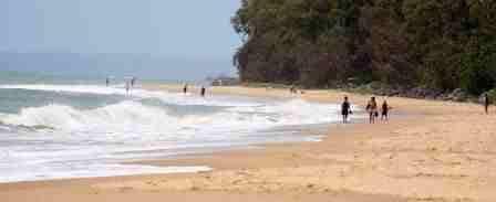 Torquay Beachfront Tourist Park Beach