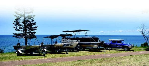 Blue Sky Boat Hire Fleet
