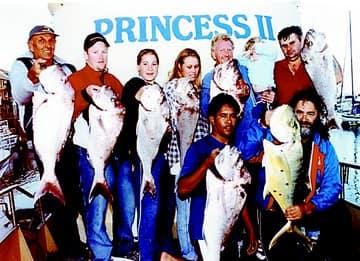 MV Princess II Fishing charter Group