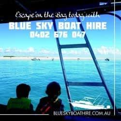 Blue sky Hervey Bay