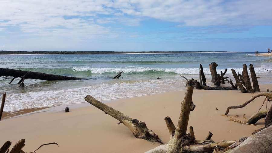Inskip point Queensland