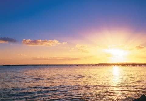 Sunset at Urangan Pier Hervey Bay