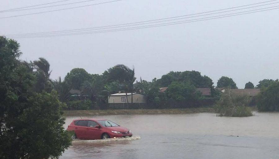 Flooding Hervey Bay