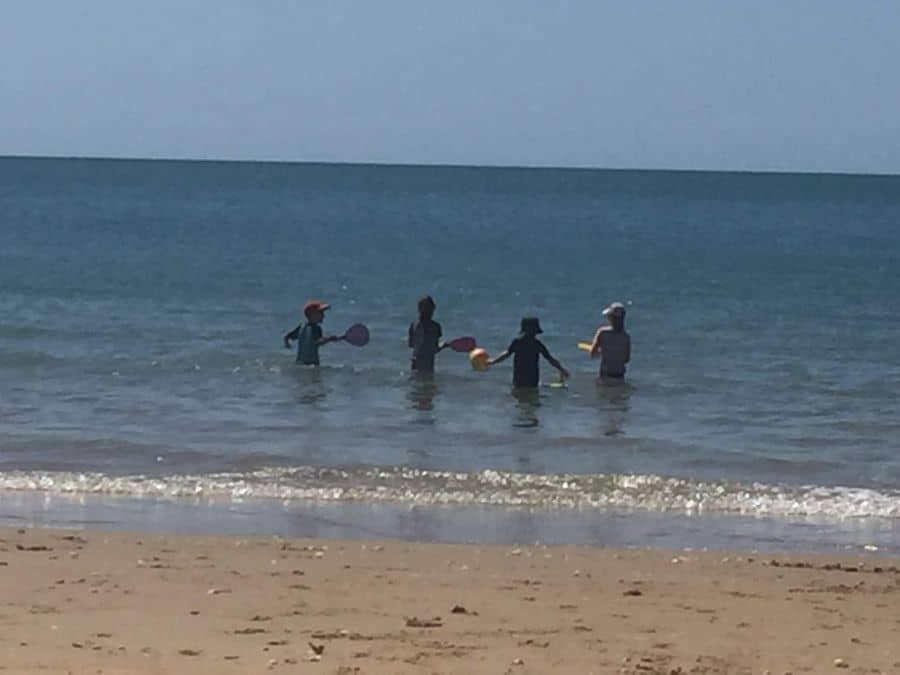 Swimming In Hervey Bay Warm Waters
