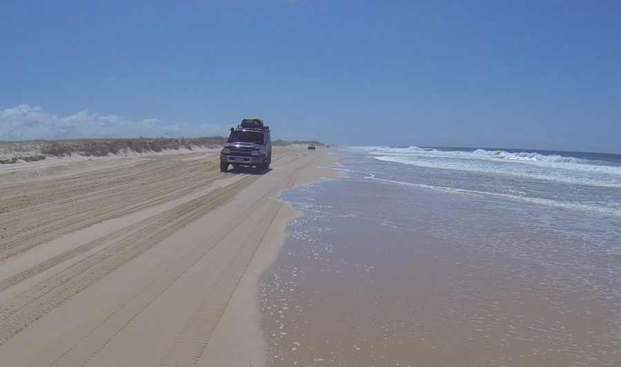 4wd to fraser island