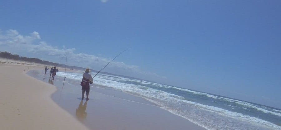 fishing fraser island