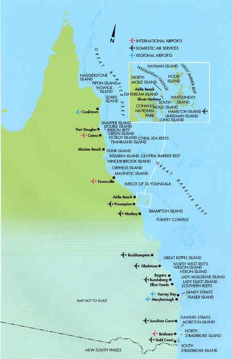 Great Barrier Reef MAP