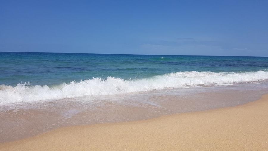 Waves On Woodgate Beach